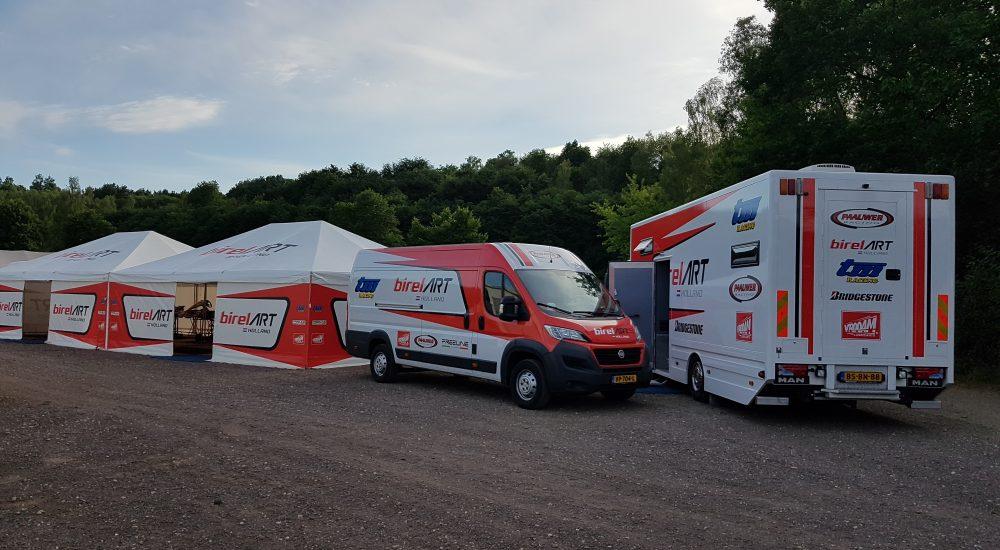 Tent / bus / vrachtwagen